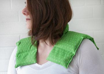 Schulter Nacken Kissen mit Kragen Exclusive